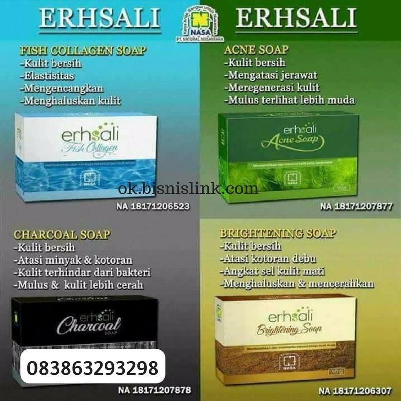 083863293298 JUAL SABUN ERHSALI ACNE SOAP DI TANGERANG